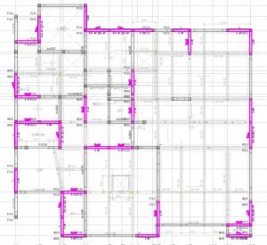図5-1耐力壁の配置