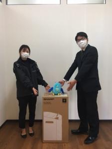 ③特賞_名支店_空気清浄機2